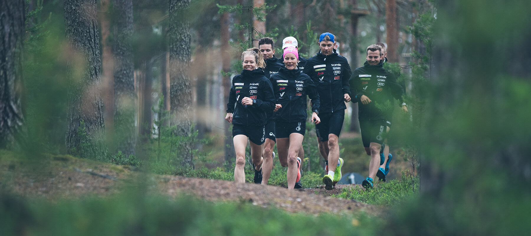Halti official partner for the finnish cross country team