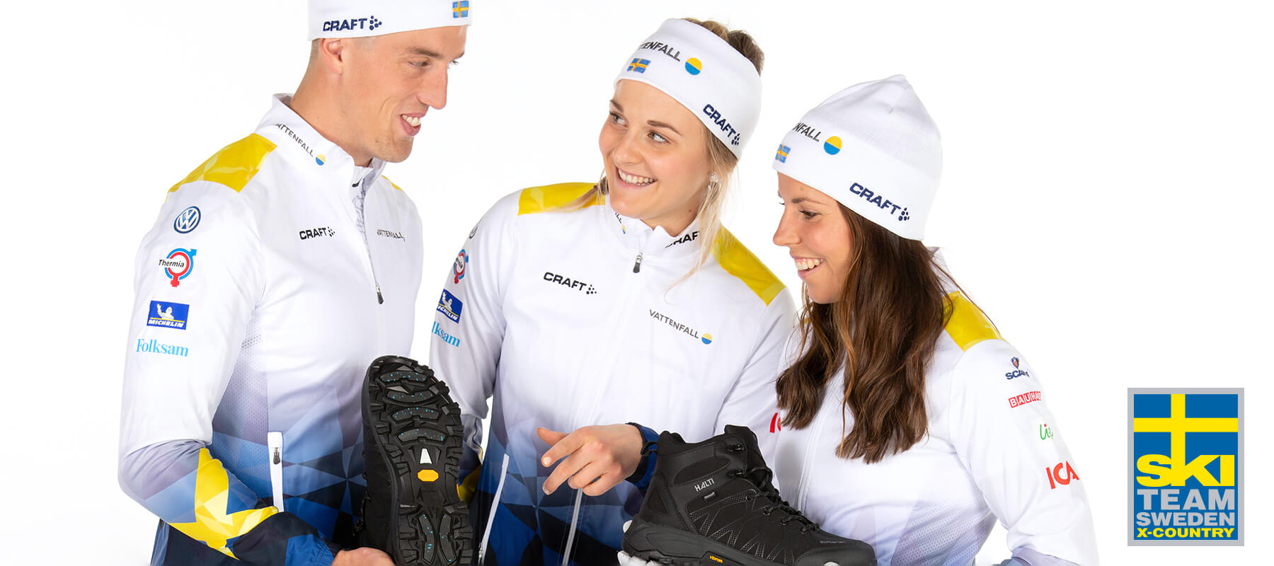 The official partner for the X-Country Ski Team Sweden