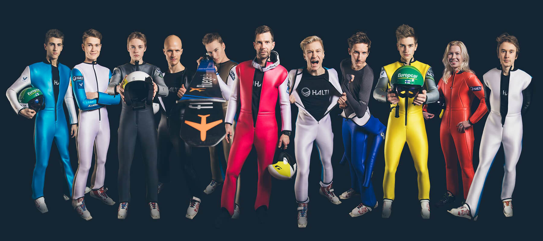 The official partner for the Ski Jumping Team Finland