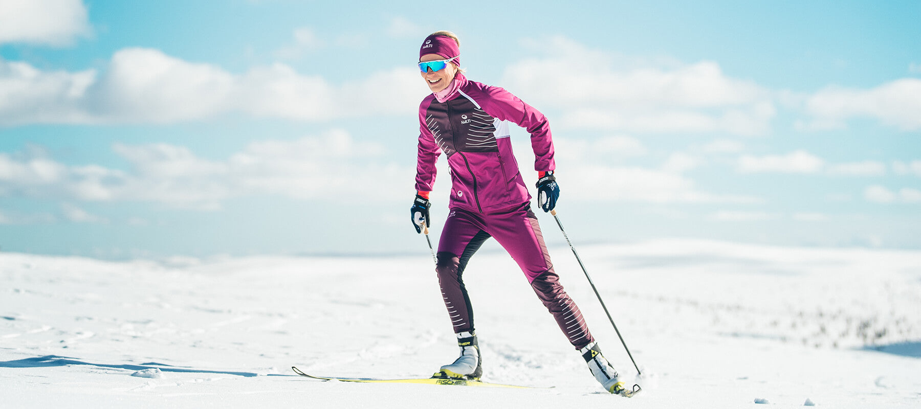 Halti Cross Country Skiing