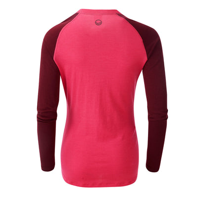 Halti Pihka Women's Merino Base Layer shirt pink