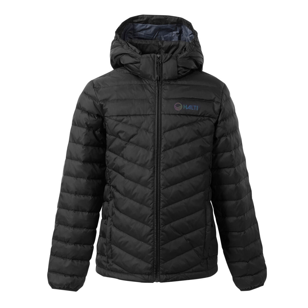 Halti Huippu Children's Down Jacket Black