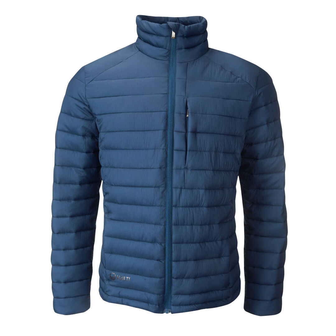 Halti Harts Men's Petrol Quilted Jacket