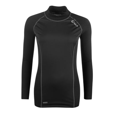 Halti Avion Windy Women's Baselayer LS Shirt Black
