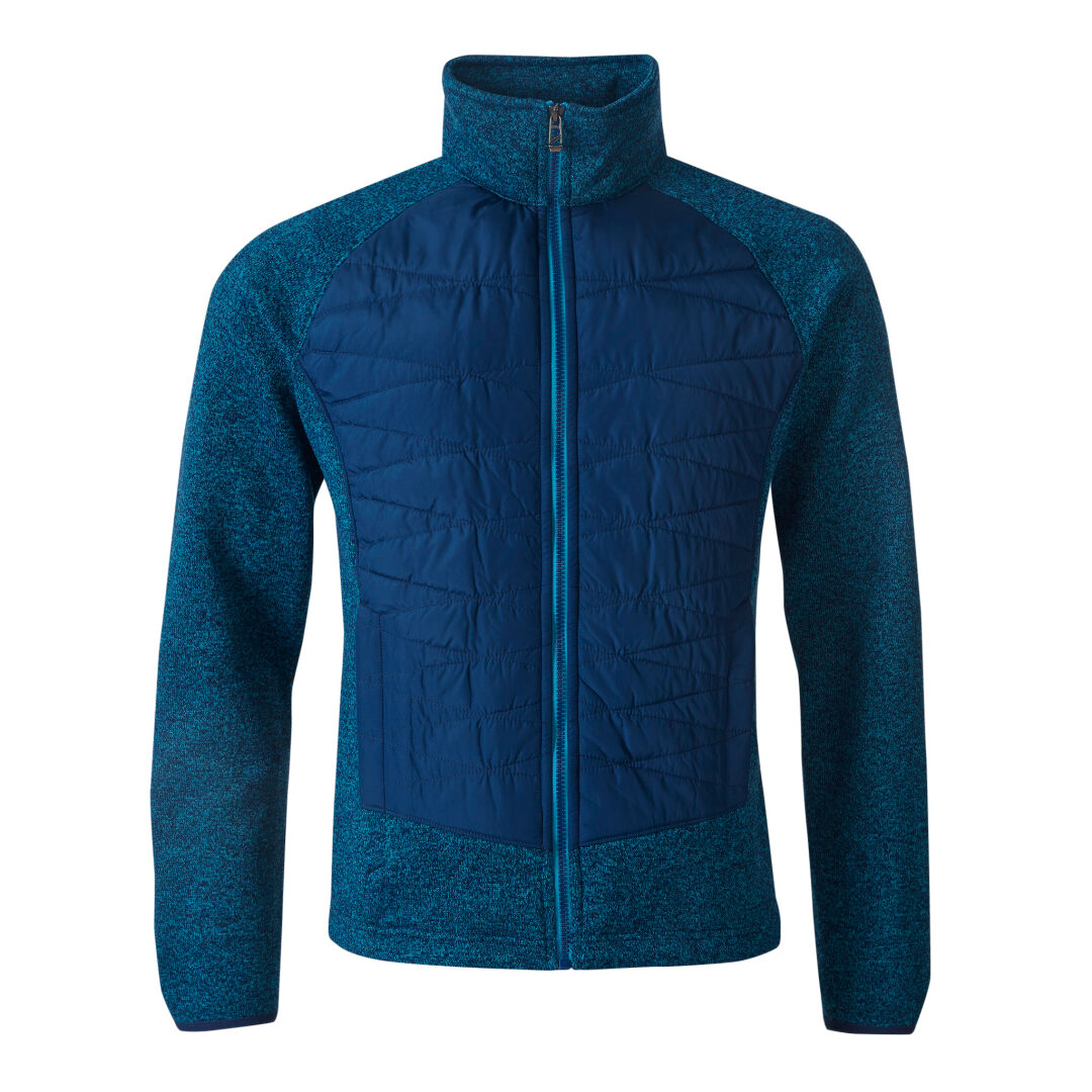 Halti Saaristo Men's Mid Layer Jacket Blue