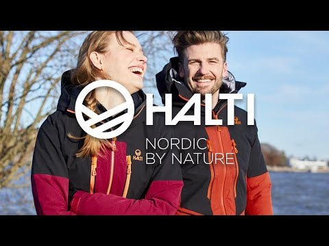 Halti Pallas Warm Men's Outdoor Jacket Black