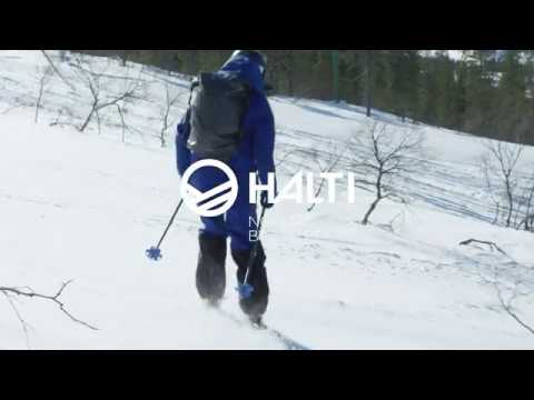 Halti Poma Men's Petrol Waterproof And Breathable Ski Pants