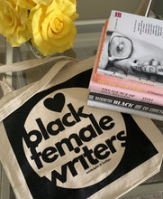 "Load image into Gallery viewer, ""Love black female writers""™ Tote bag"