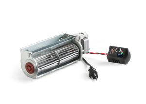 Fireplace Blower 75 cfm with Speed Control