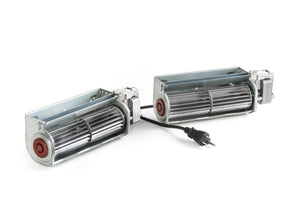 Double Fireplace Blower 150 cfm with Power Cord - FBD150