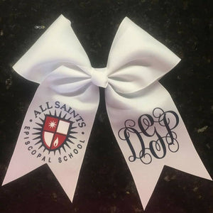 All Saints Episcopal School Cheer Bow
