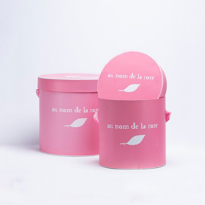 Branded Round Boxes Pink