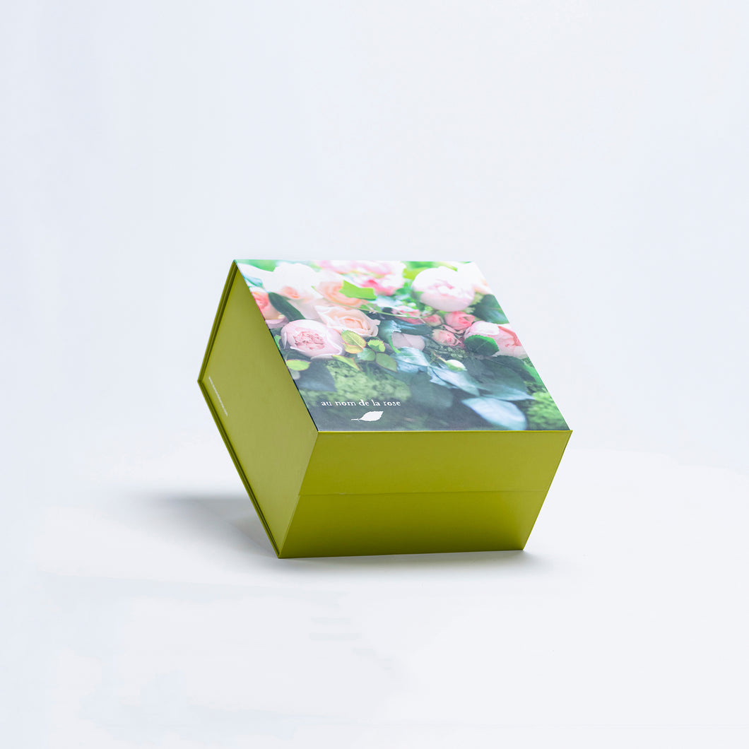 Branded Square Colored Box