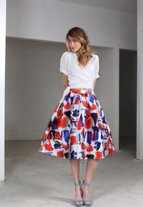 JENN LABEL Jenn Spotted Skirt