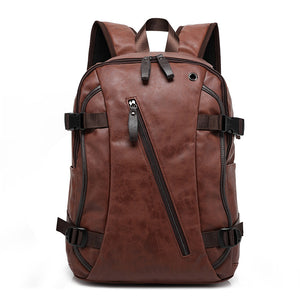 New Korean men's backpack fashion style bag
