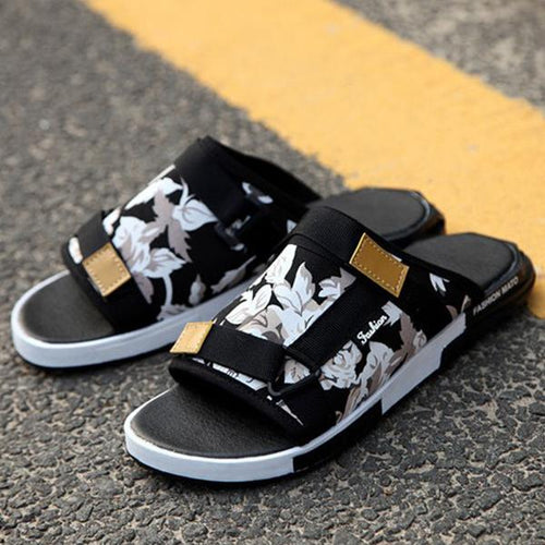 Summer new non-slip slippers male Korean version of lazy slippers - gucchol