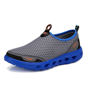 2019 outdoor sports trend mesh men's shoes breathable mesh shoes - gucchol