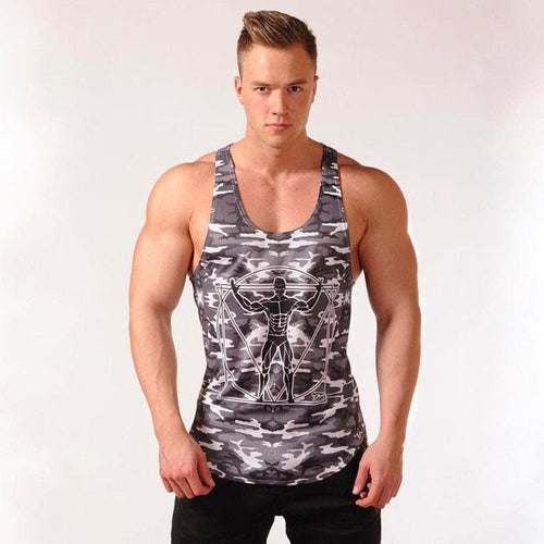 Muscle Brothers Fitness New Sports Outdoor Running Training Men's Vest
