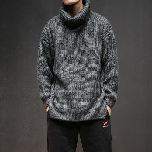 Men Loose Knitted sweaters - gucchol