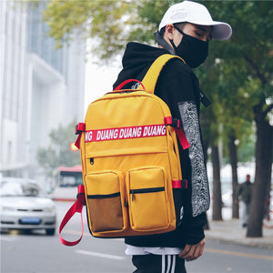 Uniseix new Korean version of Harajuku ulzzang backpack