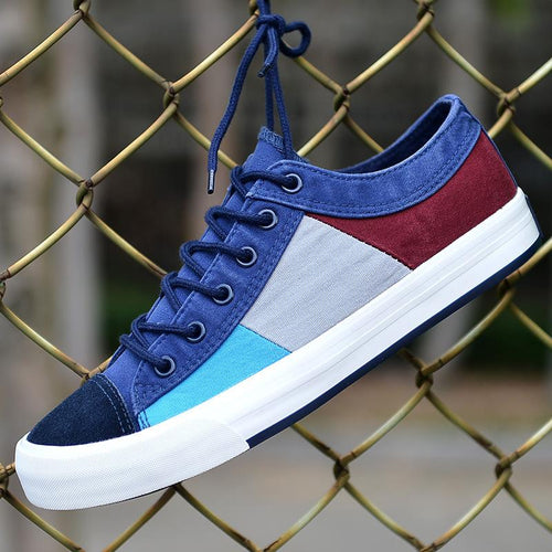 Summer new Korean fashion classic shoes breathable men's canvas shoes - gucchol