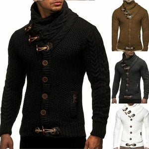Men Sweater Coat Autumn Winter Knitted Cardigans Coats - gucchol