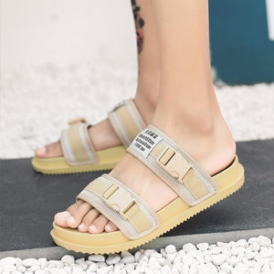 2019 Summer New Korean Men's Home Slippers Non-slip Casual Breathable Sandals - gucchol