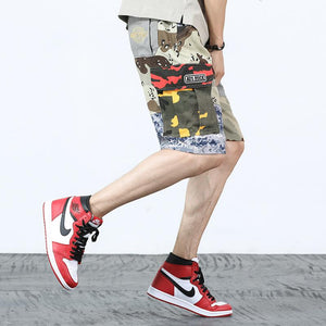 Men Japanese Style Military Camouflage pants/shorts - gucchol