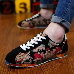 Chinese style summer men's shoes spiritual society guy shoes - gucchol
