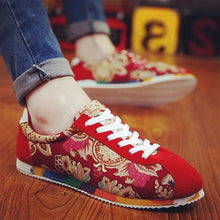 Load image into Gallery viewer, Chinese style summer men's shoes spiritual society guy shoes - gucchol