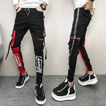 Load image into Gallery viewer, New casual pants men's stretch slim feet pants - gucchol