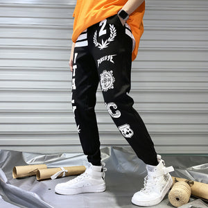 Tide brand sports and leisure harem pants