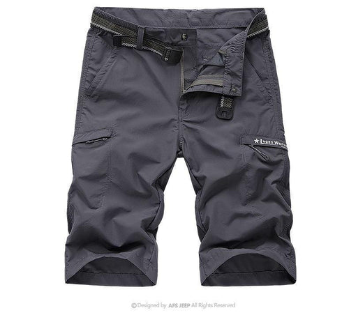 Outdoor quick-drying shorts men's hiking shorts - gucchol
