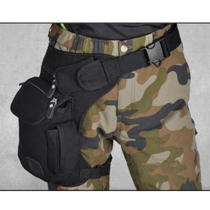 Men Canvas Drop Leg Bag - gucchol