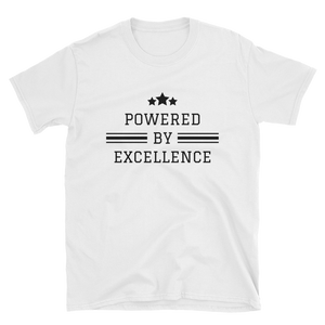 Powered by Excellence - T-shirt - Black Conscious Apparel Black Lives Matter