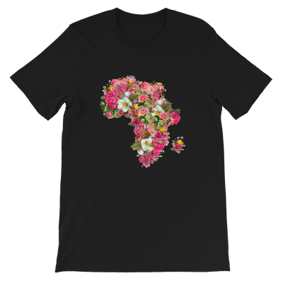African Flower Shirt - Black Conscious Apparel Black Lives Matter