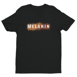 Melanin Brown Watercolors Short Sleeve T-shirt - Black Conscious Apparel Black Lives Matter
