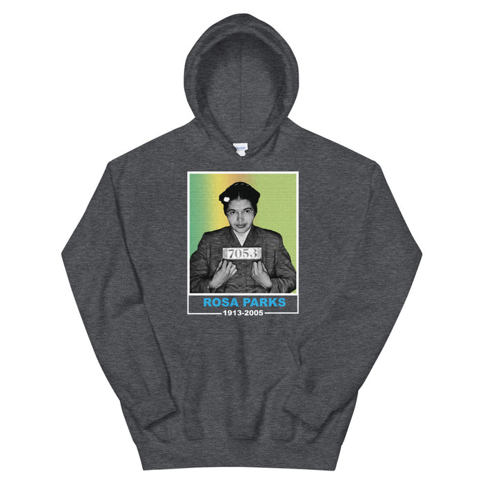 Rosa Parks Mug Shot Hoodie - Black Conscious Apparel Black Lives Matter