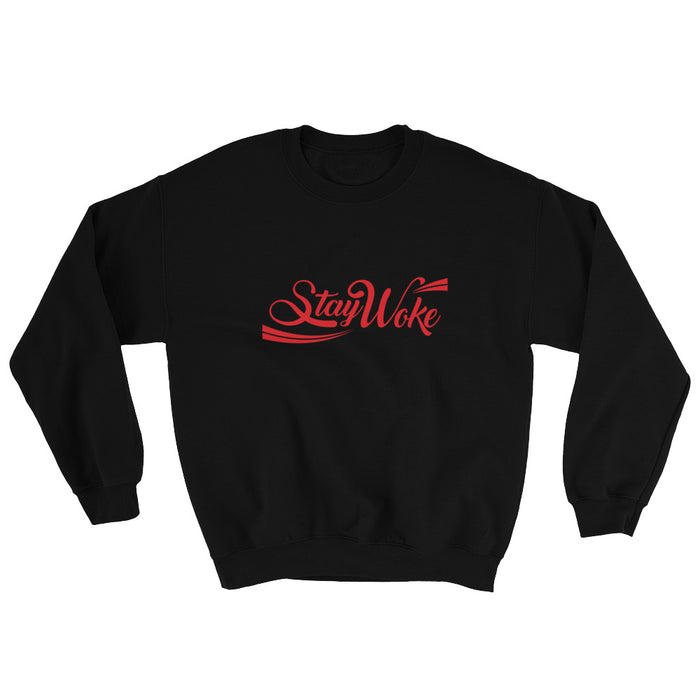 Stay Woke Cola Sweatshirt - Black Conscious Apparel Black Lives Matter