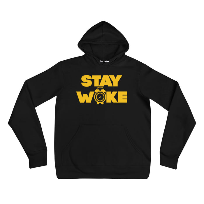 Stay Woke Alarm hoodie - Black Conscious Apparel Black Lives Matter