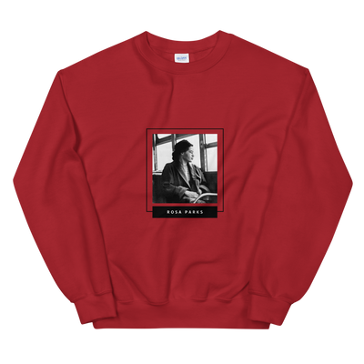 Rosa Parks Sweatshirt Nah. I'm tired - Black Conscious Apparel Black Lives Matter