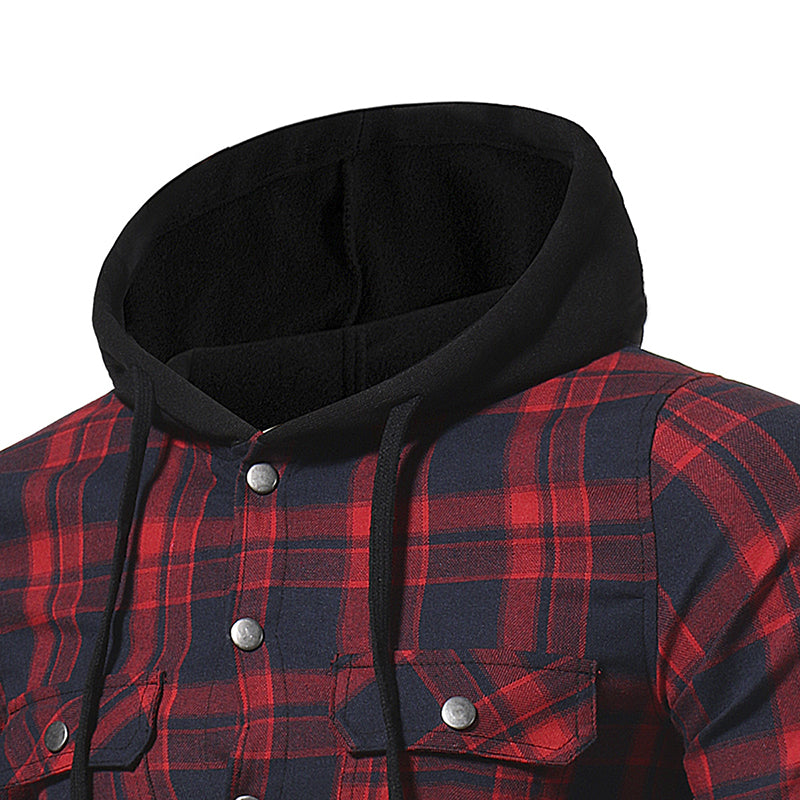Lorenzo Hooded Flannel