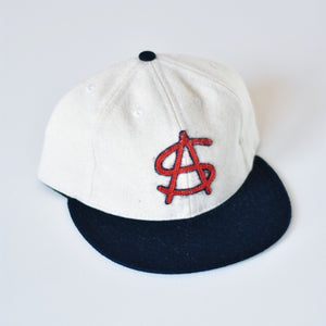 The Monogram Ballcap - Red, White & Navy