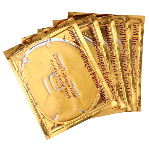 Moisturizing 24K Gold Collagen Face Mask (5 pcs)