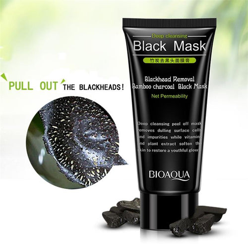 Bamboo Black Charcoal Peel Off Mask