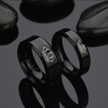 New King and Queen Couple Rings