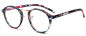 Fashion Rounded Accessory Glasses (Avail. in 7 Styles)