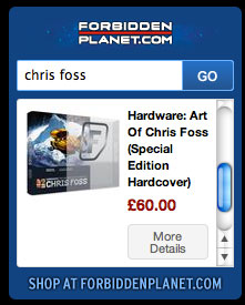 Hardware Art of Chris Foss (Special Edition Hardcover)