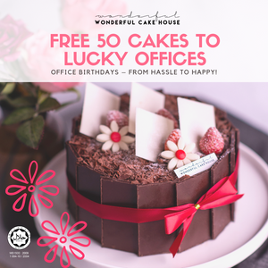 Office Birthdays – from hassle to happy!  [FREE cakes to lucky 50 offices]