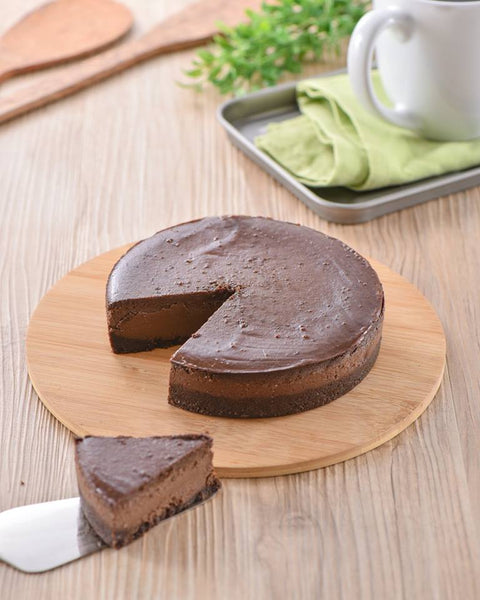 "【PWP 6"" Burnt Cheesecake】 6'' Chocolate Dream Cheese Cake"